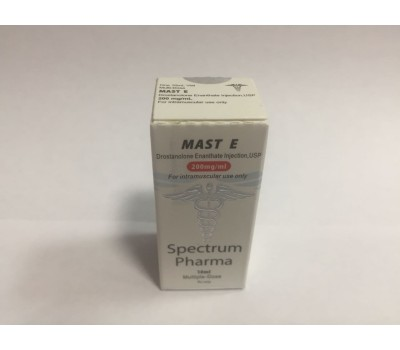 Buy original Spectrum Pharma Masteron E200 10ml 200mg/ml