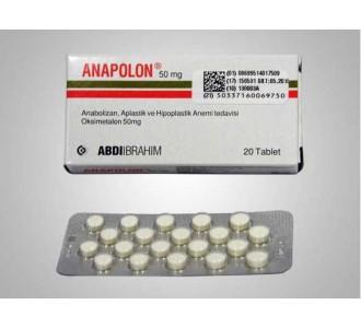 Anapolon (Anadrol) 20tabs 50mg/tab