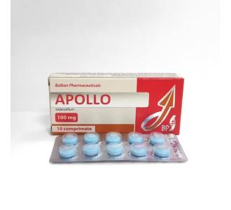 Apollo (Viagra) 100 mg per tab, 10 tabs per blister
