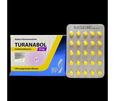 Turinabol 25tabs blister 10 mg/tab