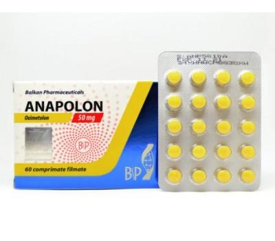 Anapolon (Anadrol) 20 tabs blister 50mg/tab