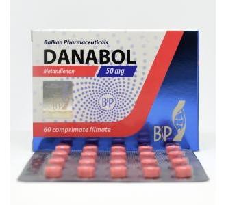 Danabol (Methandienone) 60 tabs 50mg/tab