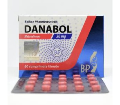 Danabol (Methandienone) 20 tabs blister  50mg/tab