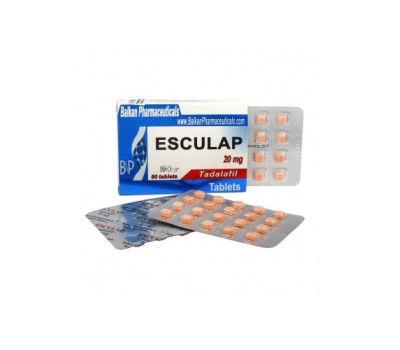 Esculap (Cialis) 5 tabs 20mg/tab