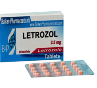 Letrozole 20 tabs 2.5 mg/tab 1 blister