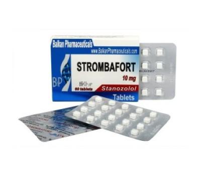 Strombafort (Stanazolol) 60 tabs 10mg/tab