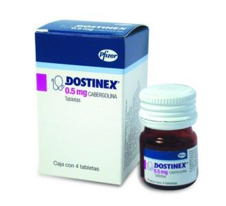 Dostinex (Cabergoline) 8 tabs 0,5mg/tab