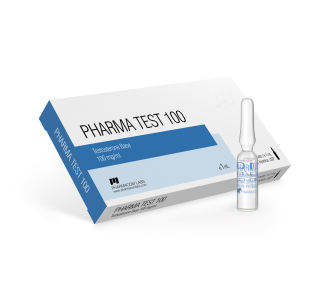 Pharma Test 100 (Testosterone water base) 10amps 100 mg/ml