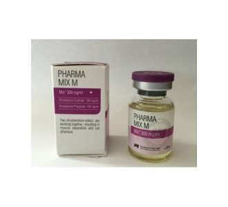 PharmaMix M300 (Masteron Mix) 10ml 300mg/ml Expired Labels