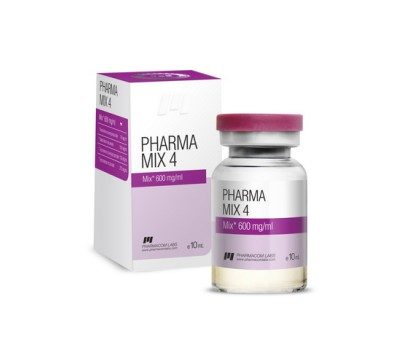PharmaMix 4 10ml 600mg/ml Expired Labels