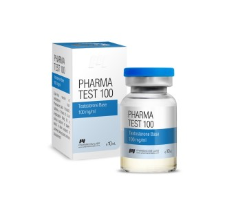 Pharma Test 100 (Testosterone water base) 10ml 100 mg/ml Expired