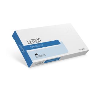Letros (Letrozole) 50 tabs 2.5 mg/tab