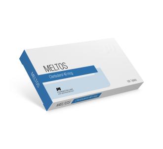 Meltos (Clenbuterol HCL) 50 tabs 40 mcg/tab Blister
