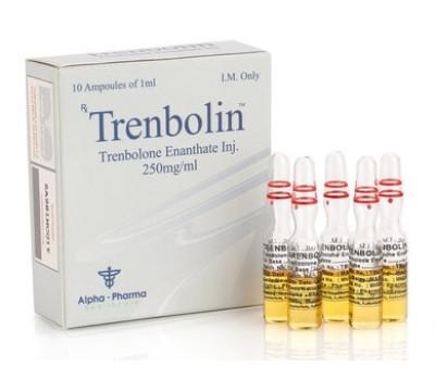 Buy original Alpha Pharma Trenbolin (Trenbolone Enanthate)