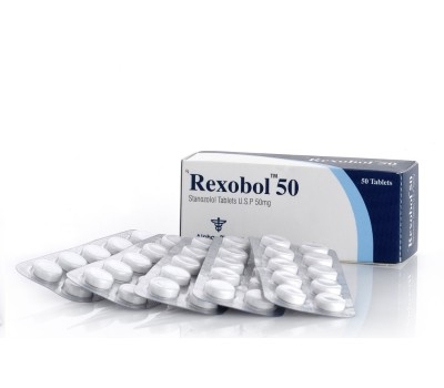 Buy original Alpha Pharma Rexobol (Oral Winstrol)