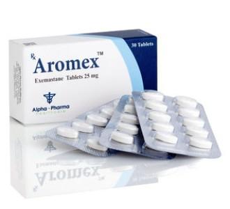Aromex (Examestane) 30 tabs 25 mg/tab
