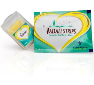 Tadali Strips 20mg/strip 10 oral sublingual strips