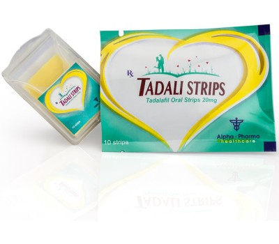 Buy original Alpha Pharma Tadali Strip