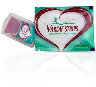 Vardif 20mg/strip 10 oral sublingual strips