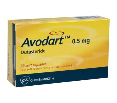 Avodart (Dutasteride) 30 caps - 0.5mg/caps