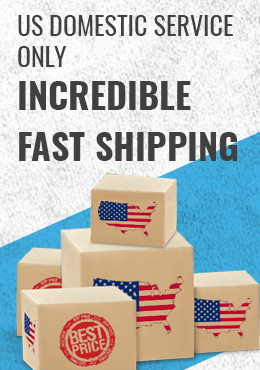 US domestic service only, incredible fast shipping, best prices