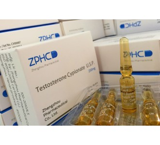 Testosterone Cypionate 10 amps 250mg/ml